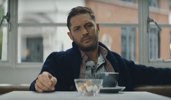 Tom Hardy pretended to be a skier