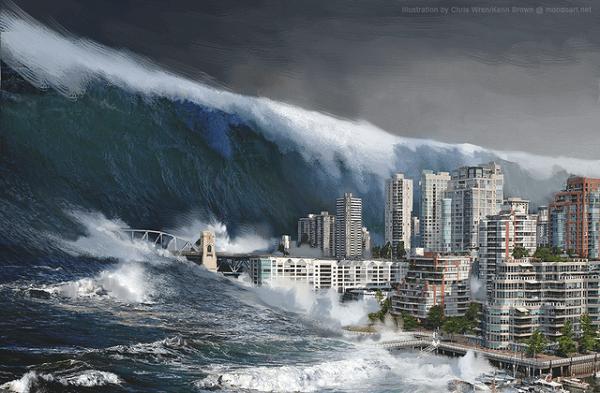 calm down tsunami