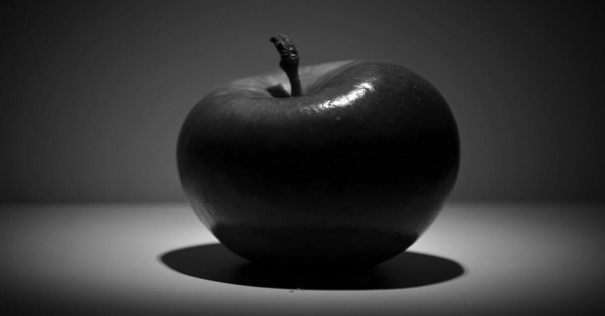 black diamond apple