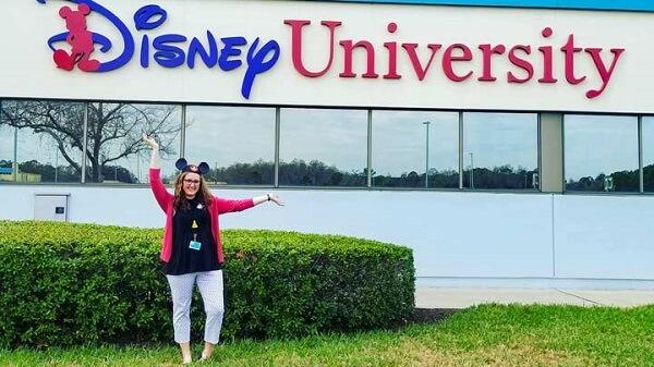 Employees must be graduates of Disney University