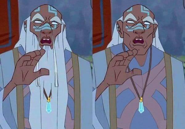 King Kashekim Nedakh from Atlantis The Lost Empire