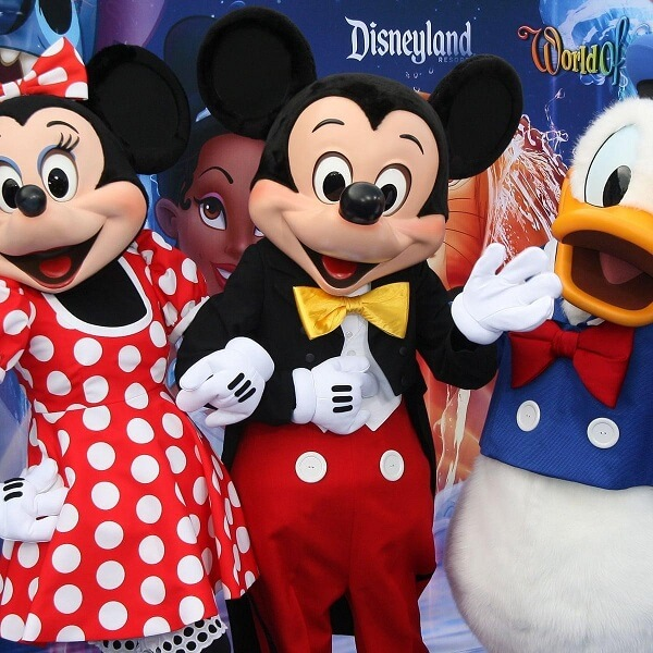 Mickey Mouse is actually a female