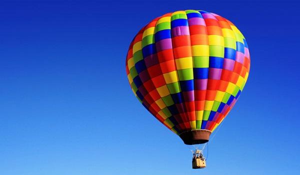 The first passengers of a hot-air balloon weren't humans