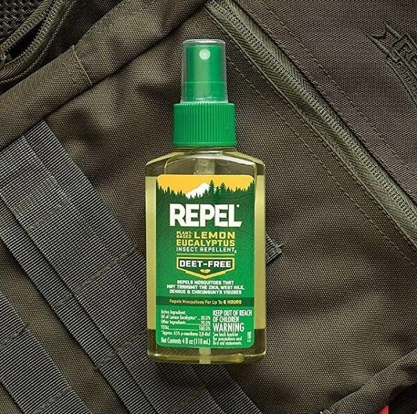 Use a mosquito repellent