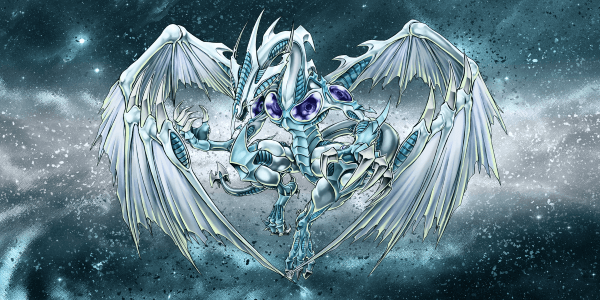YU-GI-OH the blue-eyed white dragon