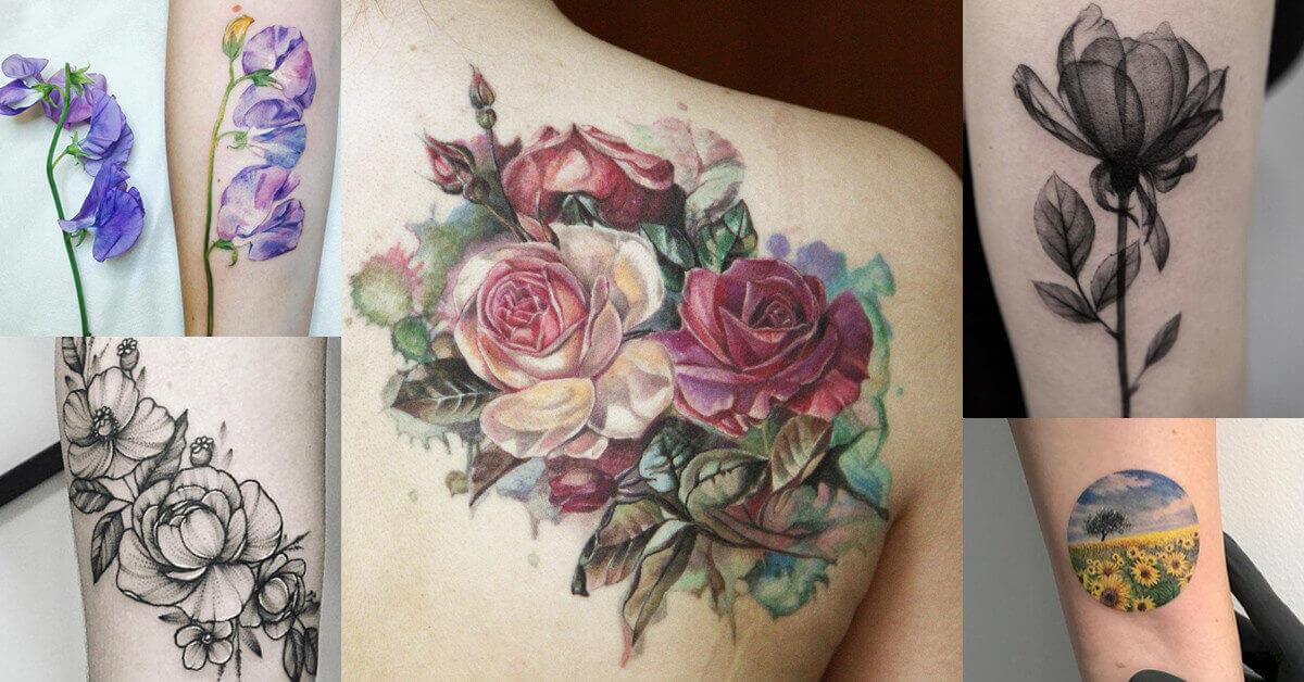 botanical tattoo artists