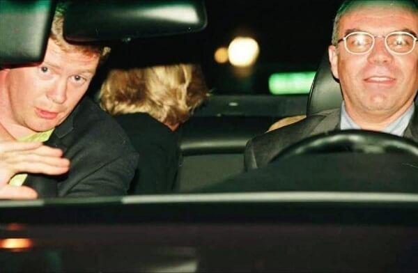 car crash and Princess Diana
