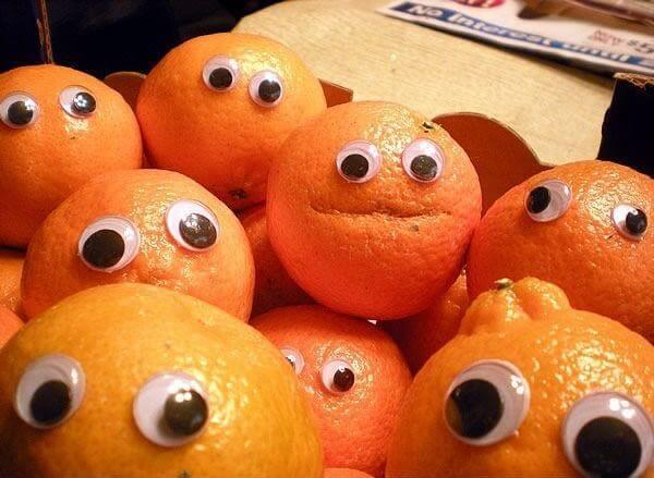 food has eyes
