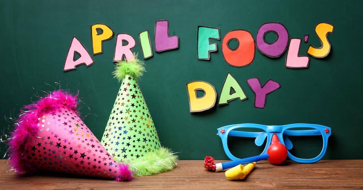 good April fools' pranks