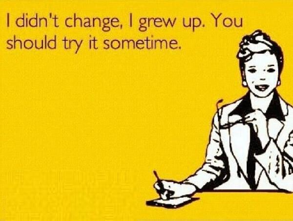 i grow up