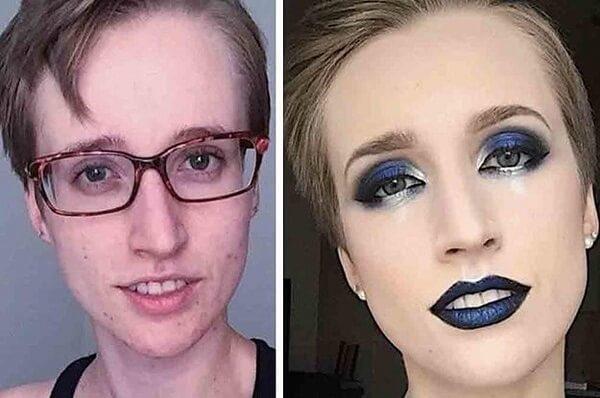 makeup women
