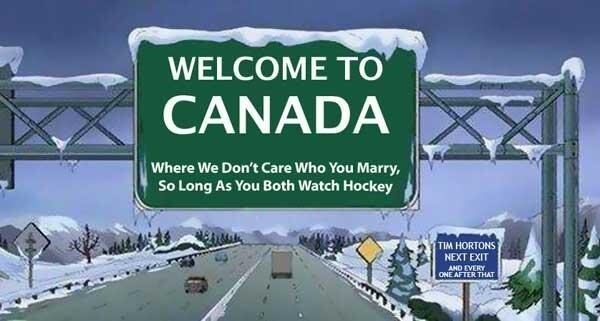 The love for hockey!