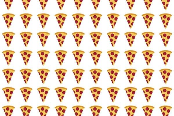 slice of pizza emoji