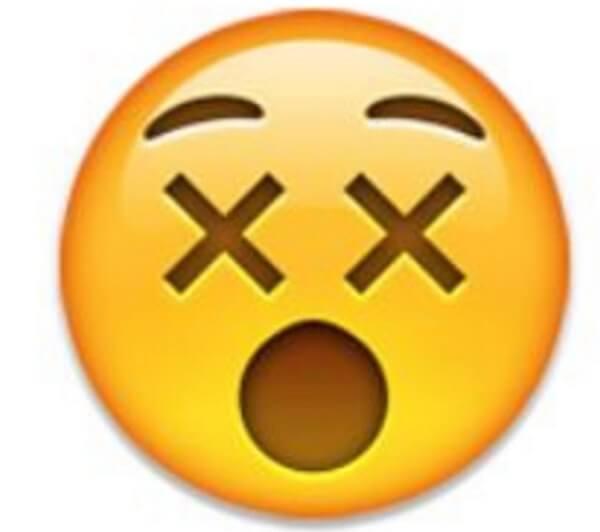 surprised smiley emoji