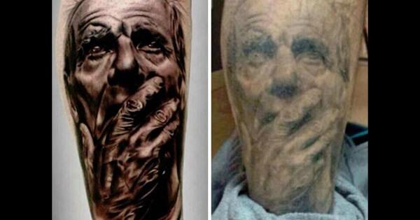 unattractive tattoo