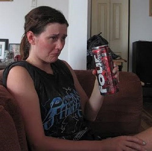 Get reunited with your ex by drinking Four lokos