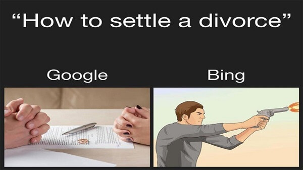 Divorce is often the aftermath of continuous