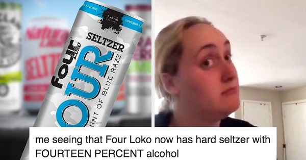 My reaction to the new Four lokos drink