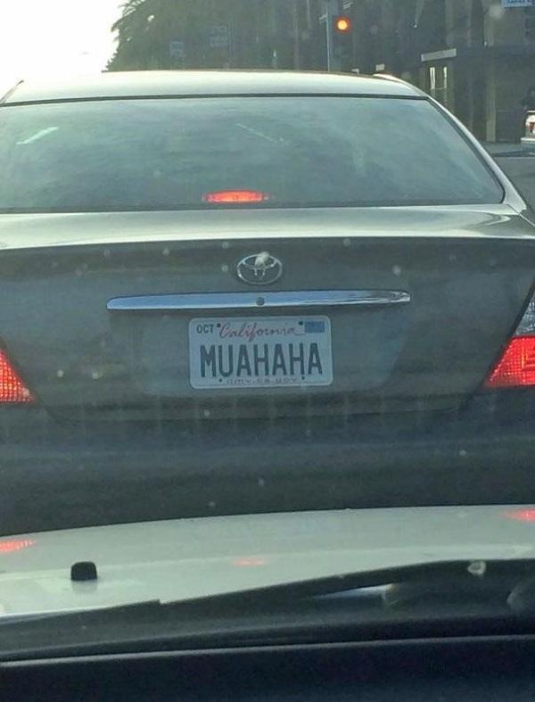 The MUAHAHA cackle