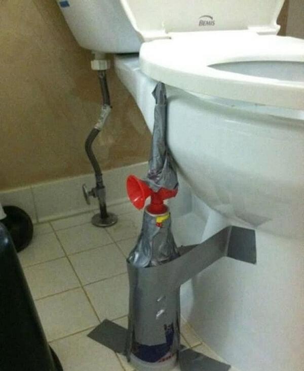 air horn toilet seat