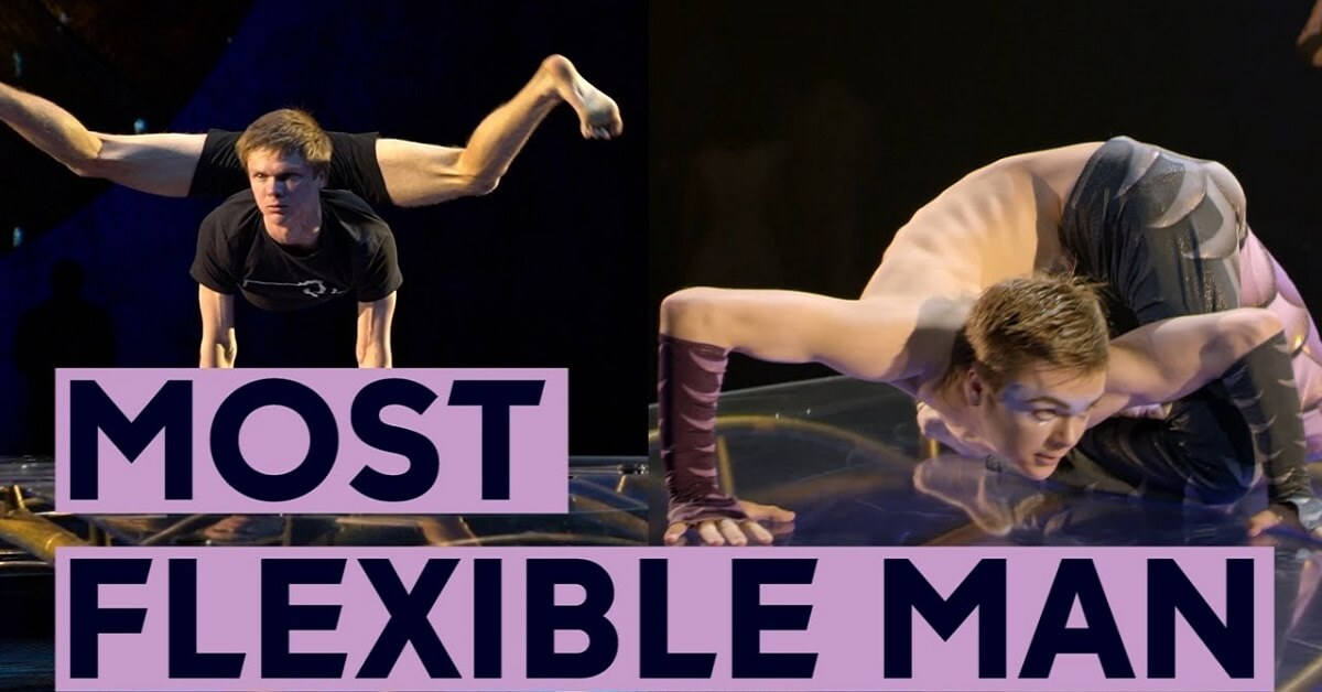 flexible person in the world