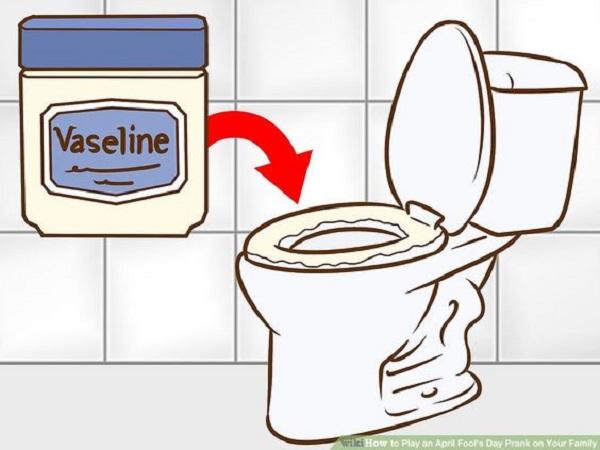 toilet seats vaseline