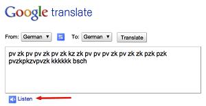 Google translate do beatbox