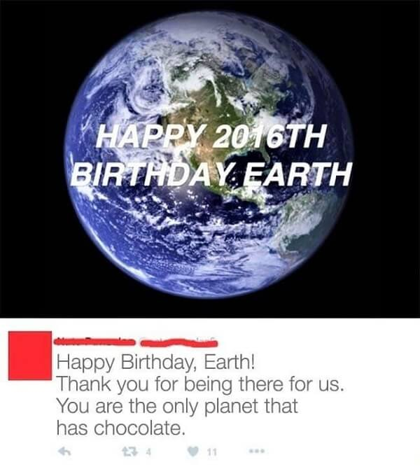 age of the planet Earth