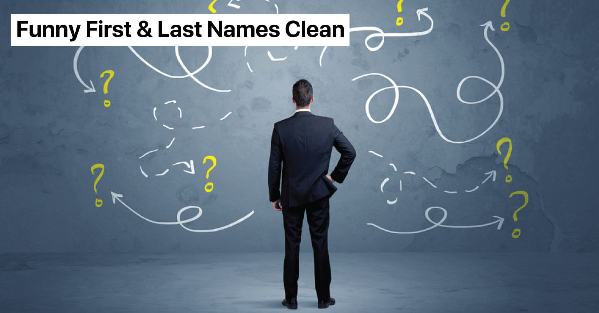 funny first and last names clean