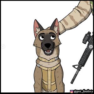 second dog