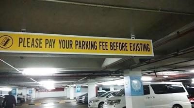 parking fee