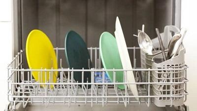 dry dishwasher