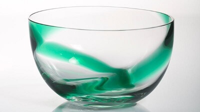 glass and dish