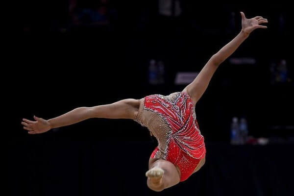 It's all about angles, perspectives, and timings in Gymnastics