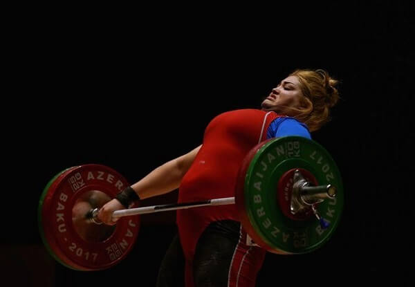 Weightlifting face