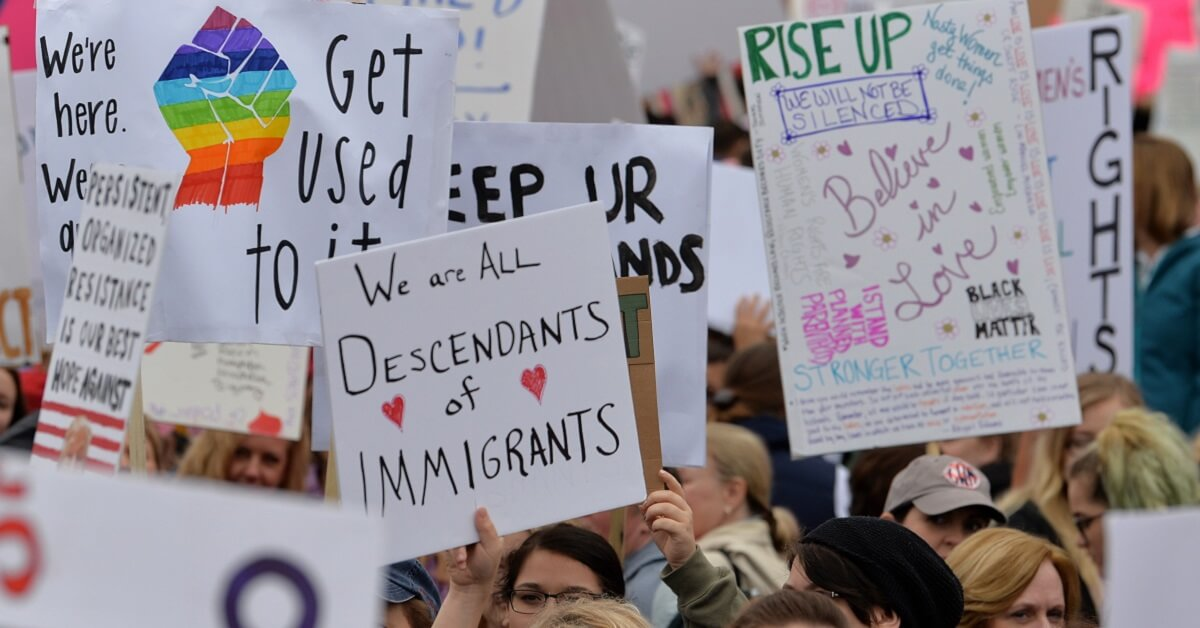 best signs for women's march